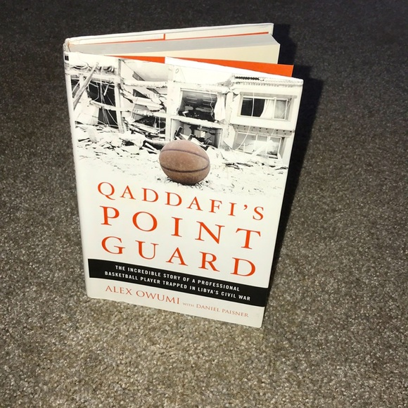 QADDAFI'S POINT GAURD book